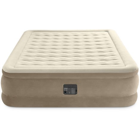 Matelas gonflable Ultra Plush Fiber Tech 2 places - Intex