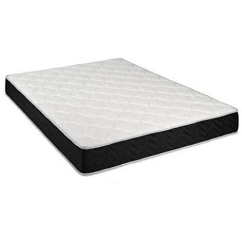 Matelas Latex 80 Kg/m3 + Aertech+ 35 Kg/m3 + Alése 140x190 x 20 cm Ferme 7 Zones de Confort - Trés Respirant