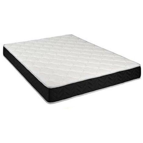 Matelas Latex 80 Kg/m3 + Aertech+ 35 Kg/m3 x 20 cm Souple 7 Zones de Confort - Trés Respirant