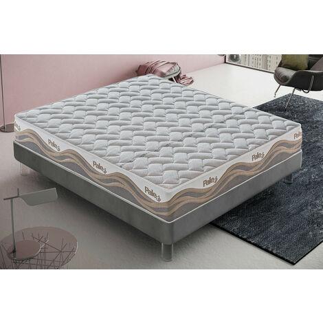 """Matelas """"Pale"""" en mousse à mémoire de forme et micro-ressorts en tissu thermosensible à 9 zones"""