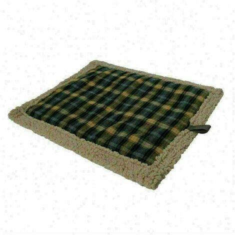 matelas pour chien - Coussin auto-chauffant pour chat chien,Couverture chauffante Thermique Sans électricité & batteries - 76x58 cm