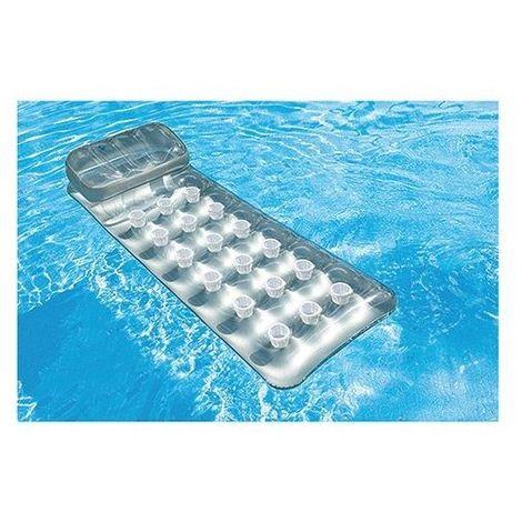 Bestway poltrona gonfiabile galleggiante per piscina mare azzurra 43097//az
