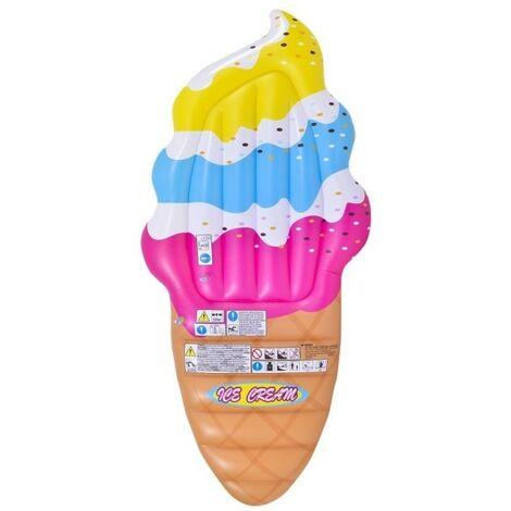 Materassino Gonfiabile Cavalcabile Gelato Ice Cream 224x107cm Piscina Mare