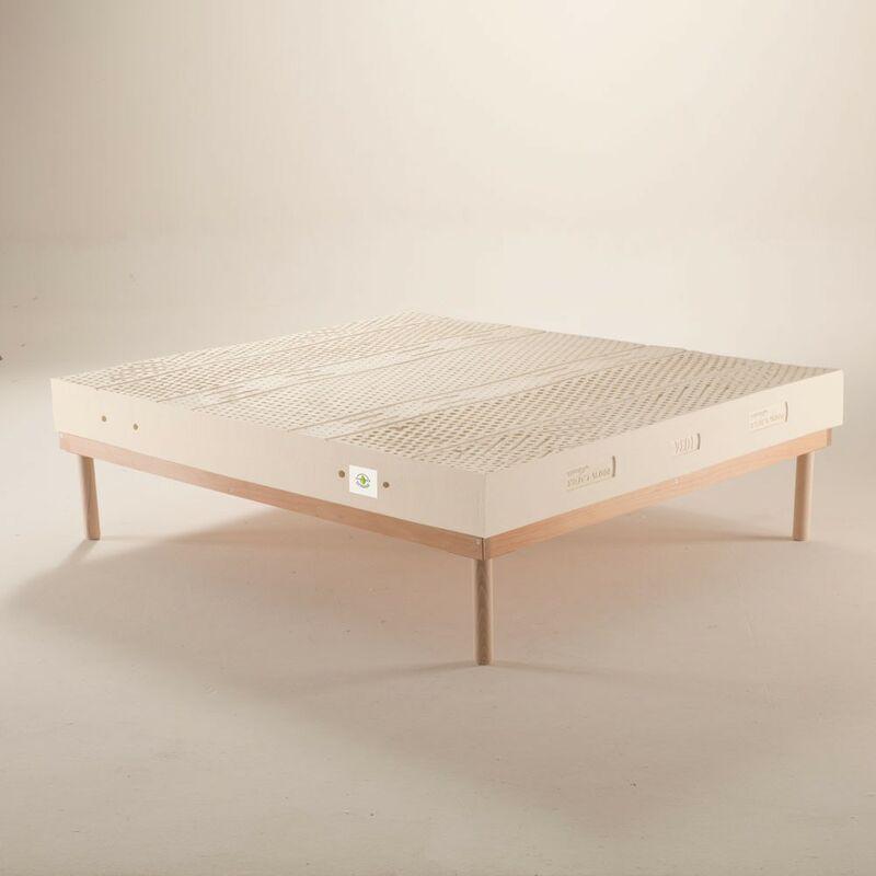 Joyshop - Materasso 100% lattice a 7 zone differenziate con tessuto Silver alto 22 cm - JUPITER | 80x190 Cm Singolo standard