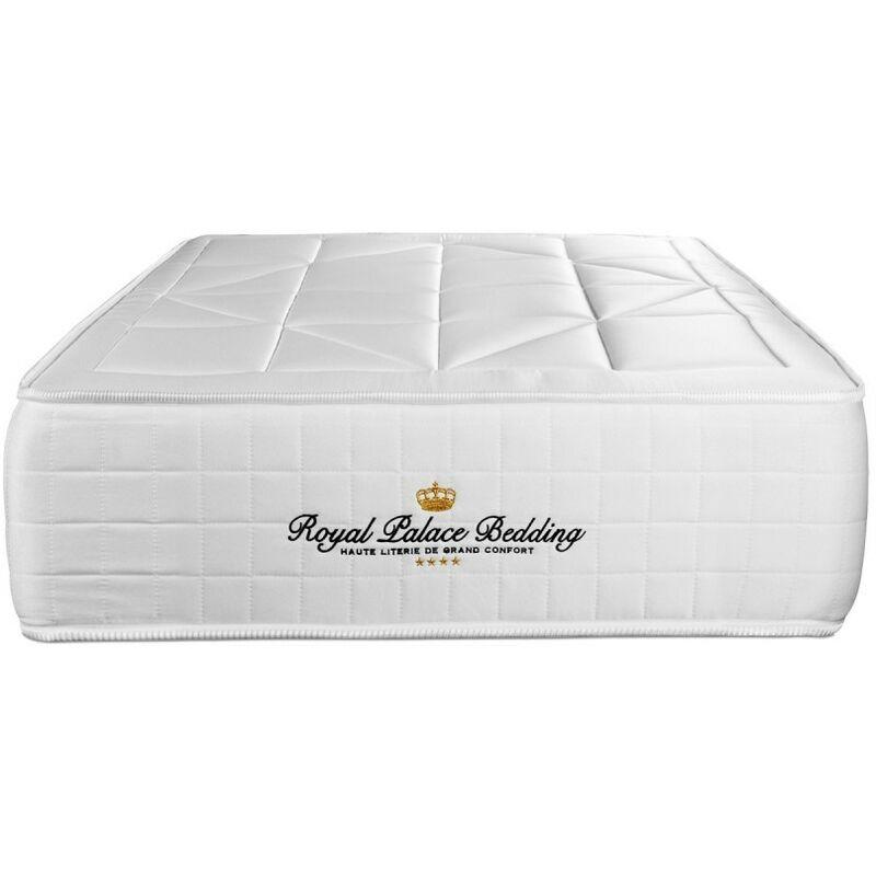 Royal Palace Bedding - Materasso Windsor 100 x 190 cm , Spessore : 26 cm, Memory foam e molle insacchettate, Bilanciato, 5 zone di comfort