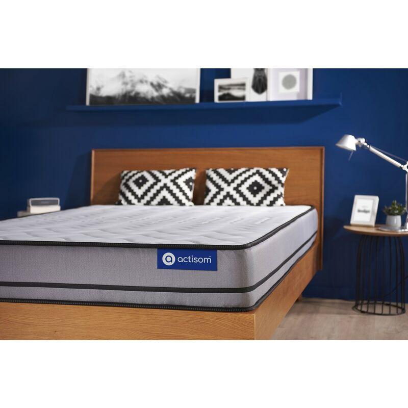 Actisom - Materasso Actiflex night 70x190cm , Spessore : 20 cm , Molle insacchettate , Molto rigido, 3 zone di comfort