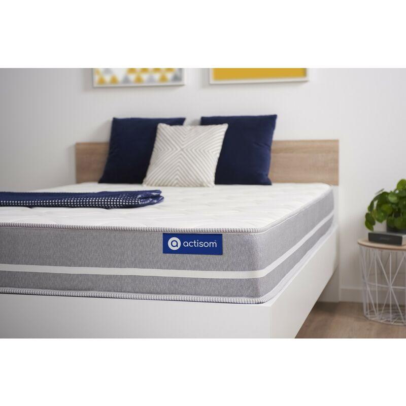 Actisom - Materasso Actilatex touch 80x210cm , Spessore : 20 cm , Lattice e memory foam , Bilanciato, 3 zone di comfort