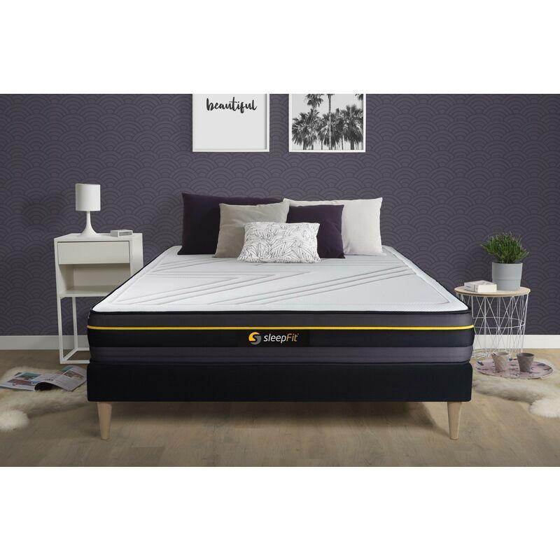 Sleepfit - Materasso ACTIVE 160x200cm , Spessore : 24 cm , Memory foam , Rigido, 5 zone di comfort