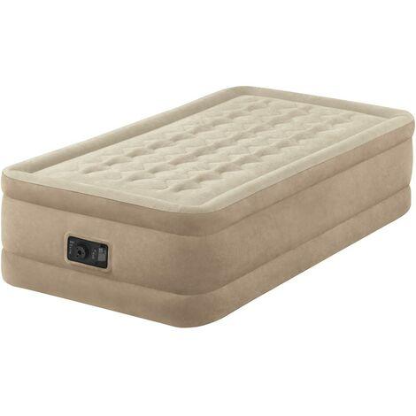 Materasso Gonfiabile Per Dormire.Materasso Gonfiabile Intex 64456 Singolo Comfort Con Pompa