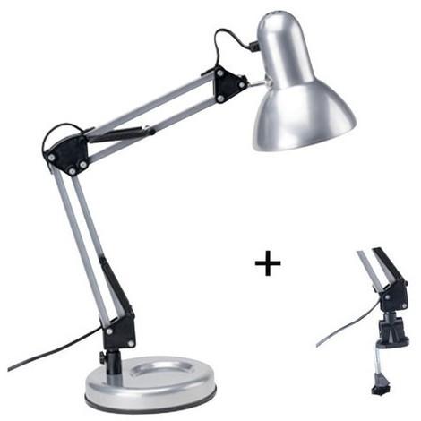 """main image of """"LAMPE DE BUREAU ARTICULEE TECHNO NOIR"""""""