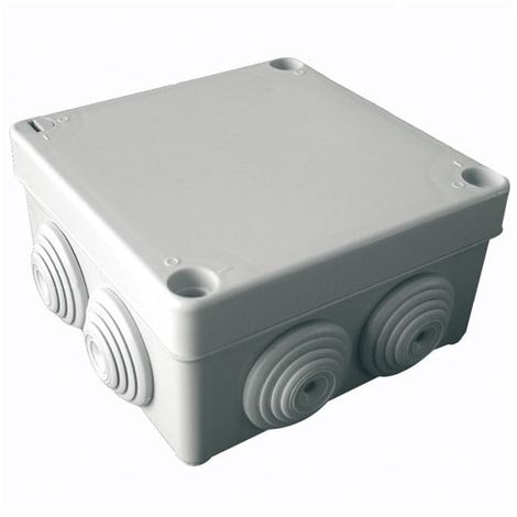 200 x 155 x 80 mm Bo/îte de d/érivation dext/érieur avec trous passe-c/âbles