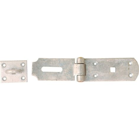 Matlock 200mm Heavy Duty Hasp And Staple Bzp-electro Galv