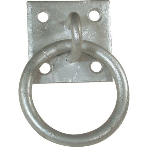 Matlock 50mm x 50mm Ring ON Plate Galvanised