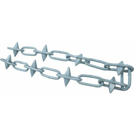 Matlock 6mmx10M Spiked Steel Chain Galvanised