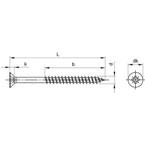 Matlock 6X100MM Pozi Countersunk Timber Screw/Ribs A4 (BX-100)