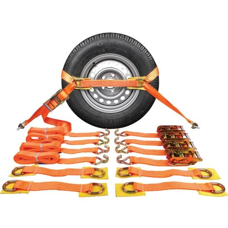 """main image of """"Matlock Complete Vehicle Recovery Strap Set OF 4"""""""