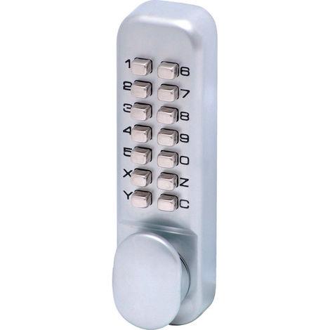 Matlock Digitales Türschloss Codelock ohne Tastensperre