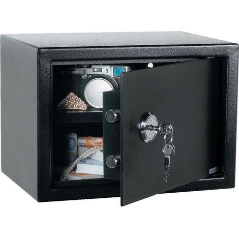 Matlock Mechanical Keyed Safe Black 250mm x 350mm x 250mm