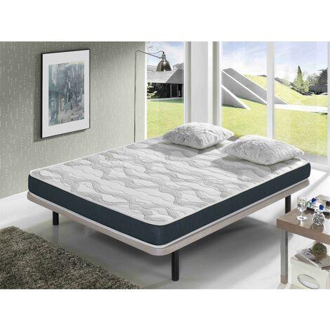 Matratze 140x190 ERGO CONFORT - HÖHE 14 CM - Super weiche Polsterung - jugendlich - ideal für Nest-Betten