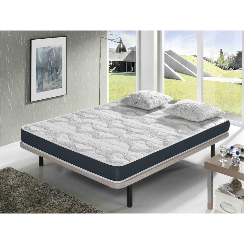 Dormalit - Matratze 140x200 ERGO CONFORT - HÖHE 14 CM - Super weiche Polsterung - jugendlich - ideal für Nest-Betten