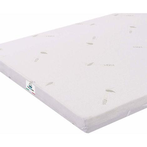 Matratzen Topper für Doppelbetten 180x200 Memory-Foam Beschichtung Aloe Vera Dicke TOP8