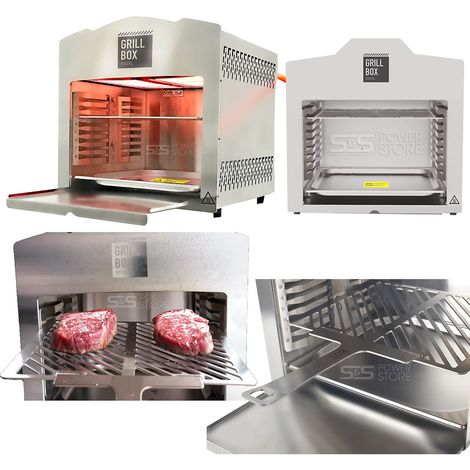 Matrix GrillBox 880XL Oberhitzegrill Gasgrill Set