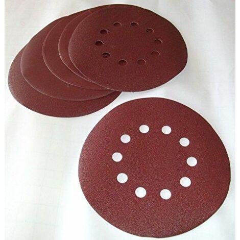Matrix MXPT-130210040 Set de 10 Papiers à poncer Grain 100 pour DWS 600/710/1200