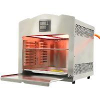 Matrix XL GrillBox 880XL | Oberhitzegrill | 880 Grad | Steakgrill aus Edelstahl, 2 Keramikbrenner, 6,5 KW Leistung