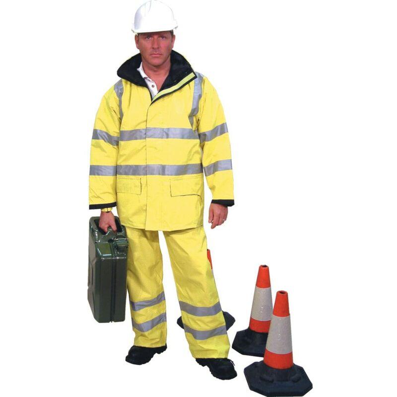 Image of Future Garments Ltd Matrix Yellow Trousers EN 471/3 Large