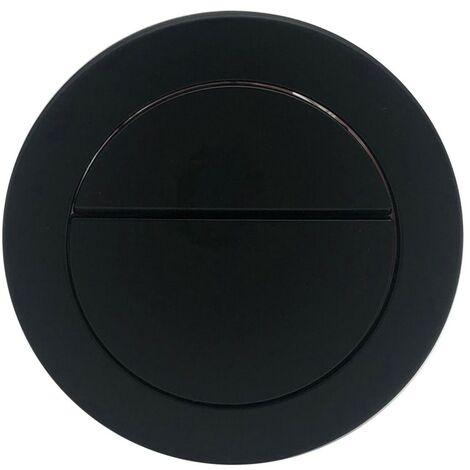 "main image of ""Matt Black Flush Button to Suit TIS6202 Concealed Cistern"""