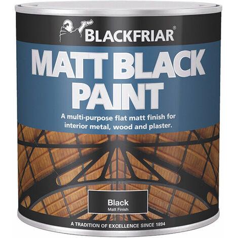 Matt Black Paint