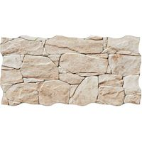 Matt Stacked Limestone Effect Porcelain Tiles - 1SQM - (L) 650 (W) 333