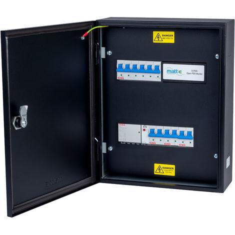 Matt:E EV-3-32-M 3PH 32A MCB Connection Unit for 3x 1PH 32A EV Charger
