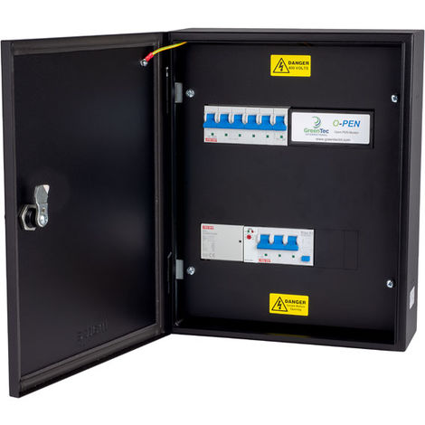 "main image of ""Matt:E EVU-1-32-TP-R 3PH 32A Type A RCBO Connection Unit for 1x 3PH 32A EVC"""