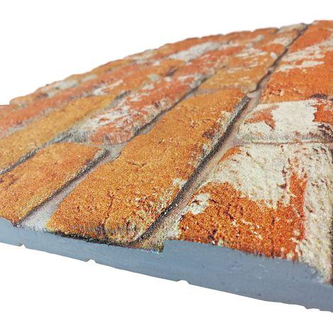 MATTONCINO CLASSIC pannello finto mattone in EPS Resinato Misura 100x50 Cm spessore 2 cm