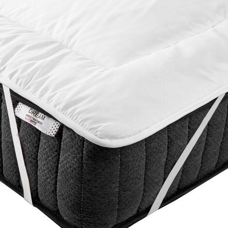 Mattress Bed Topper Microfibre EU Super King Size 6ft Yangra