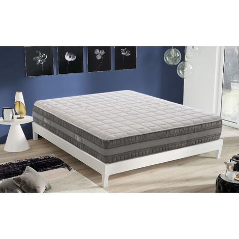 Mattress with Memory Foam and Gel – Depth 22 cm – 3 Layers