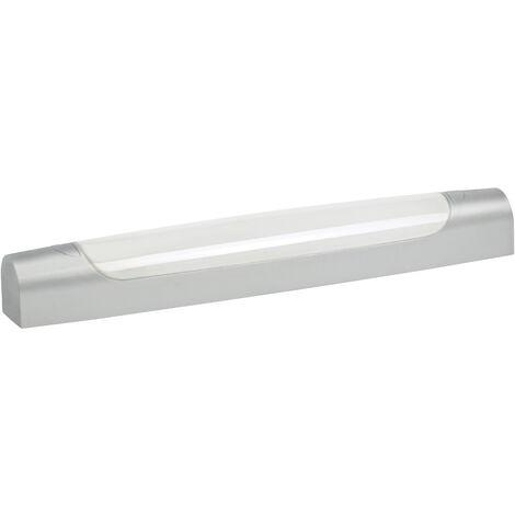 MAUD SYM 00 - Reglette IP44 IK07 Vol.2 LED integ. 6W 4000K 700lm, gris