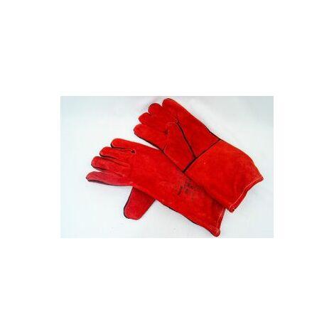 "Mauk (1 Paar) Rote Schweißhandschuhe ""Welding Glove"""