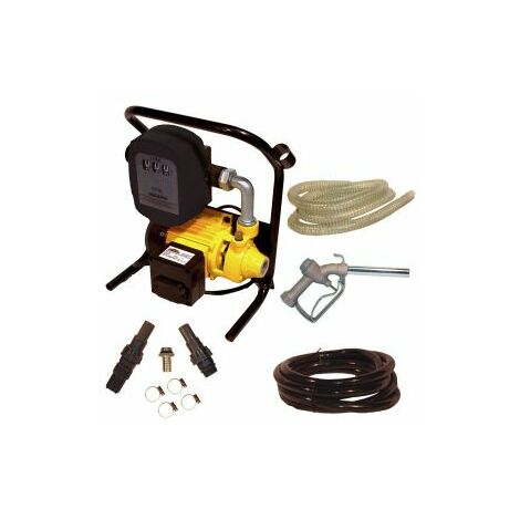 Mauk Heizöl Pumpe Dieselpumpe Set mit Zubehör und Aluzapf 600 W 2400 l/h