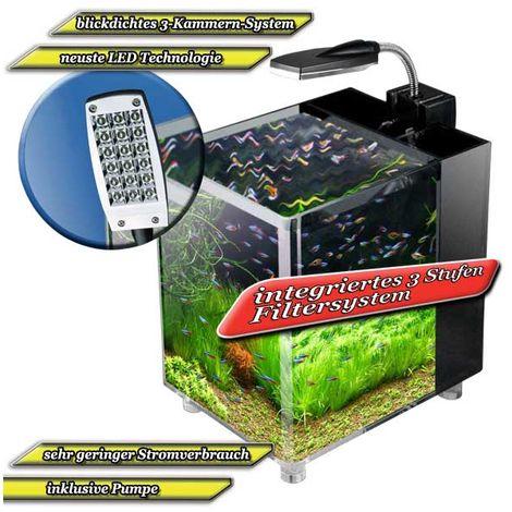 Mauk Mini Nano Aquarium Set - 7 l