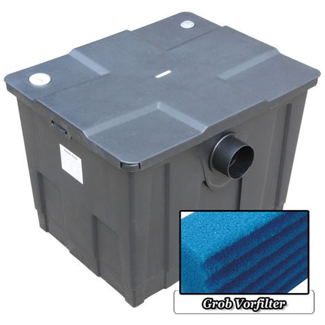 Mauk Teichfilter Teichdurchlauffilter Grundmodul mit Grobfiltereinsatz - 12000 l