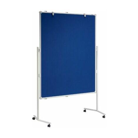 MAUL® Präsentationsständer - mit Textil-Oberfläche und Rollen