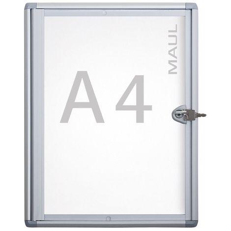 MAUL – Vitrine d'affichage, profondeur extérieure 27 mm - hauteur extérieure 350 mm, 1 x format A4