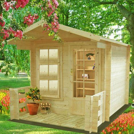 Maulden Log Cabin 8 x 8