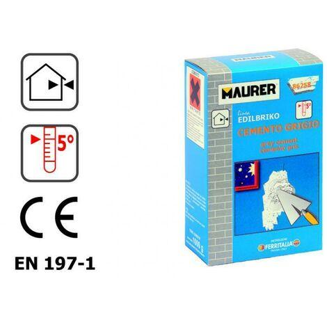 MAURER 1000G DI CEMENTO GRIGIO W040405021