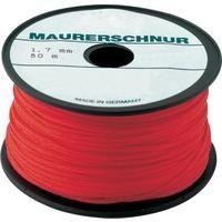 Maurerschnur PE 1,7mm 100m rot Overmann 4016590000913 Inhalt: 1