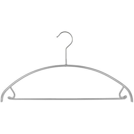 MAWA Metall Kleiderbügel Economic 42/U, silberfarben