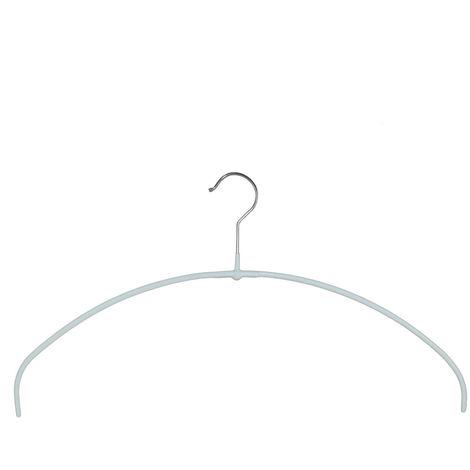 MAWA Metall Kleiderbügel Economic light 40/PT, weiß