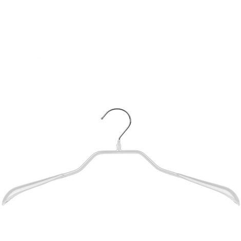MAWA Metall Kleiderbügel Prestige 46/G, weiß
